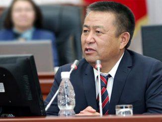 Kırgızistan Meclis Başkanı Tursunbekov-165138